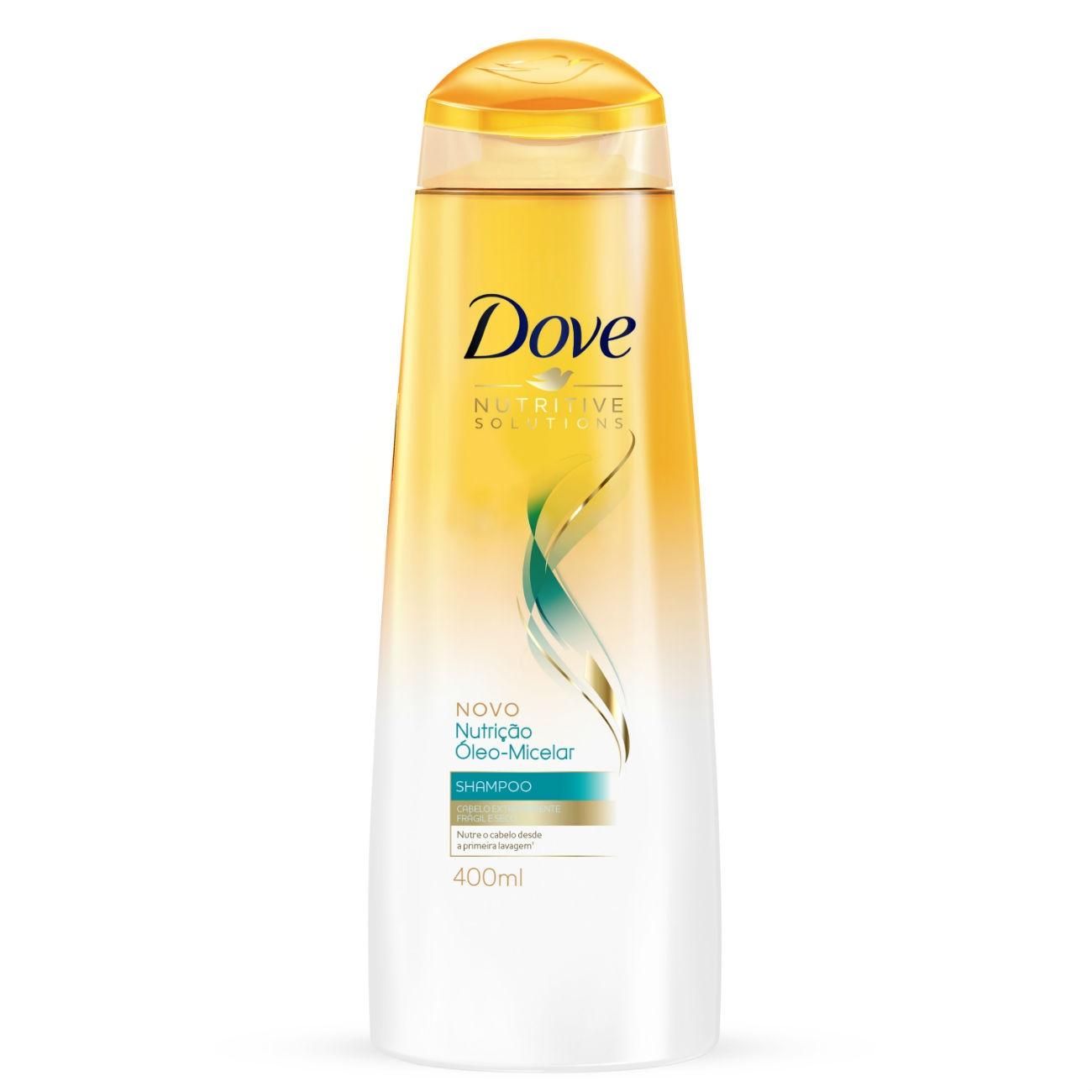 Shampoo Dove Nutrição Óleo-Micelar 400ml