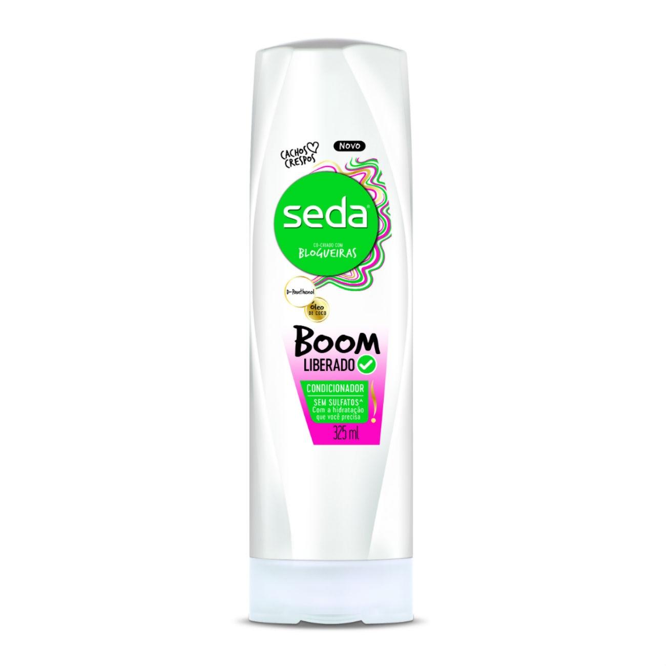 Condicionador Seda Boom Liberado 325ml