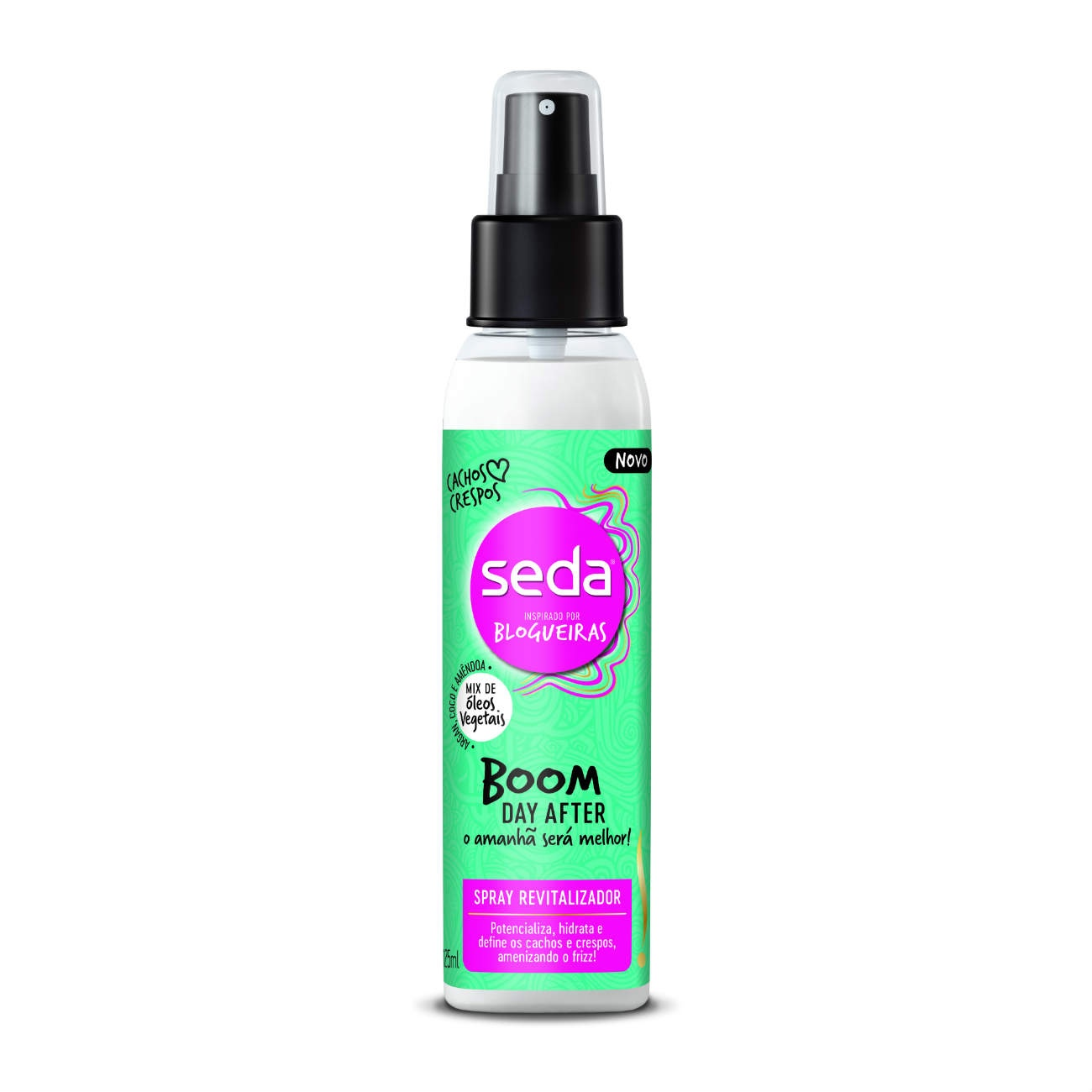 Spray revitalizador Seda Boom 125ml