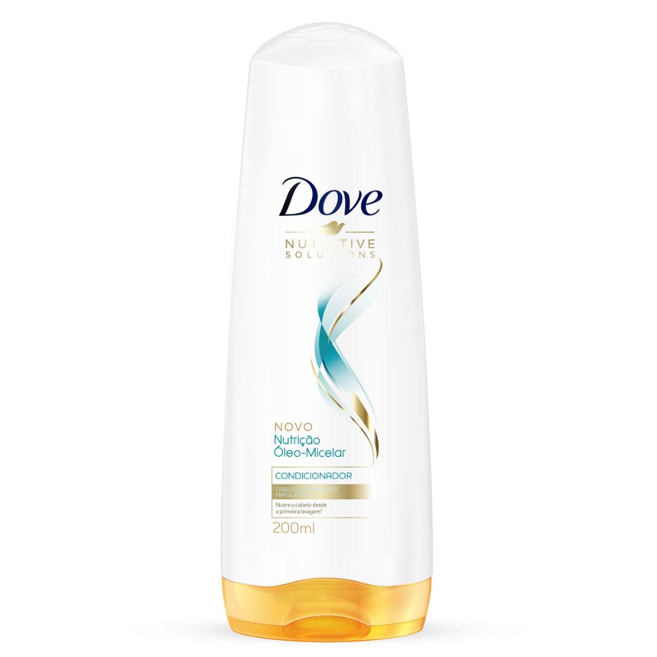 Condicionador Dove Nutrição Óleo-Micelar 200ml