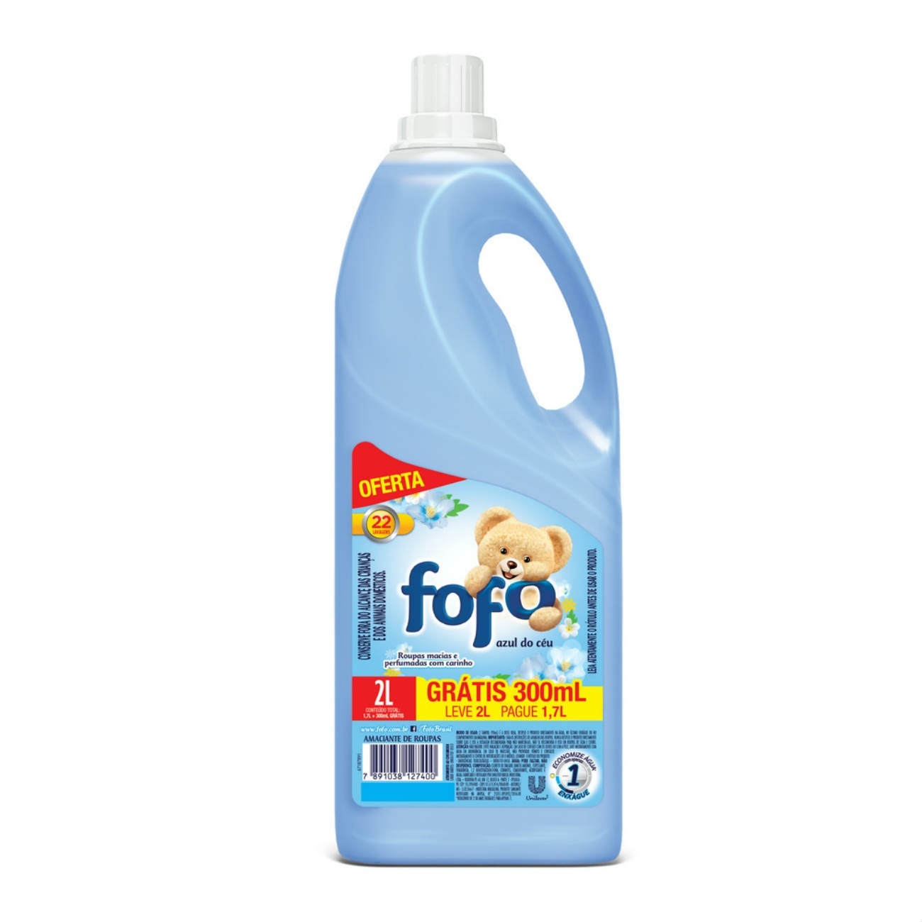 Oferta Amaciante Dilu�do Fofo Azul do C�u 2L