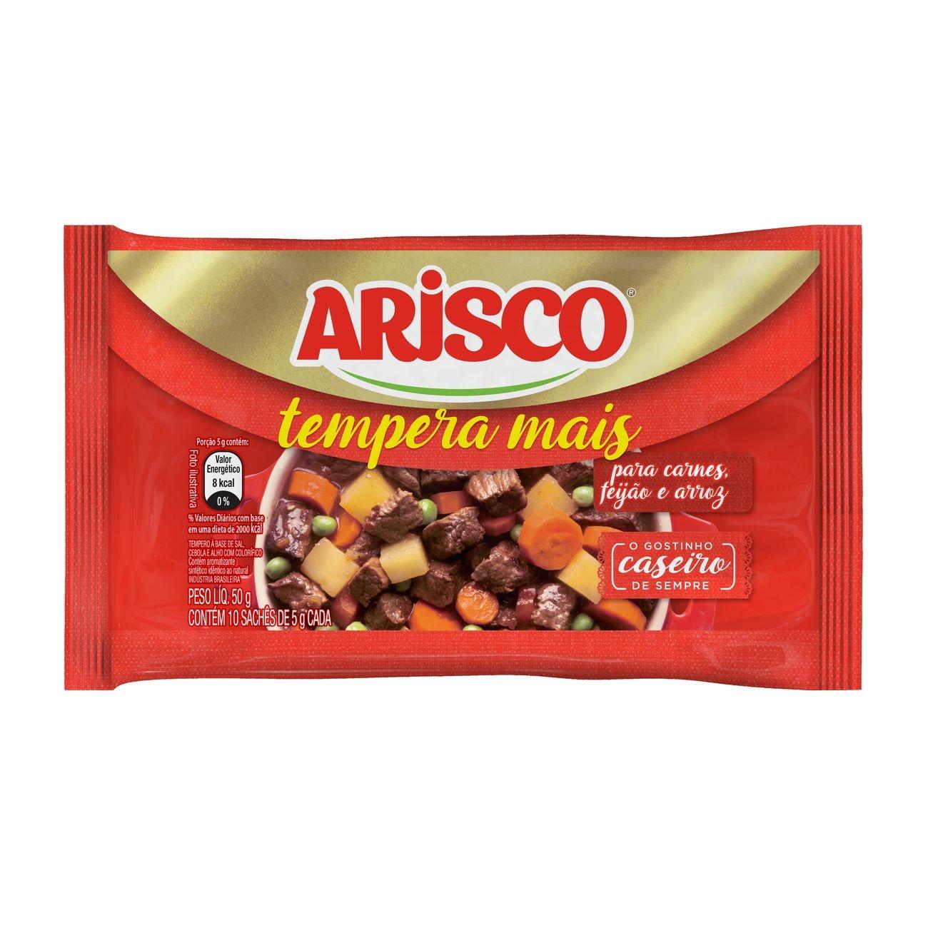 Tempero Arisco em P� Mais Novo 50g Carnes