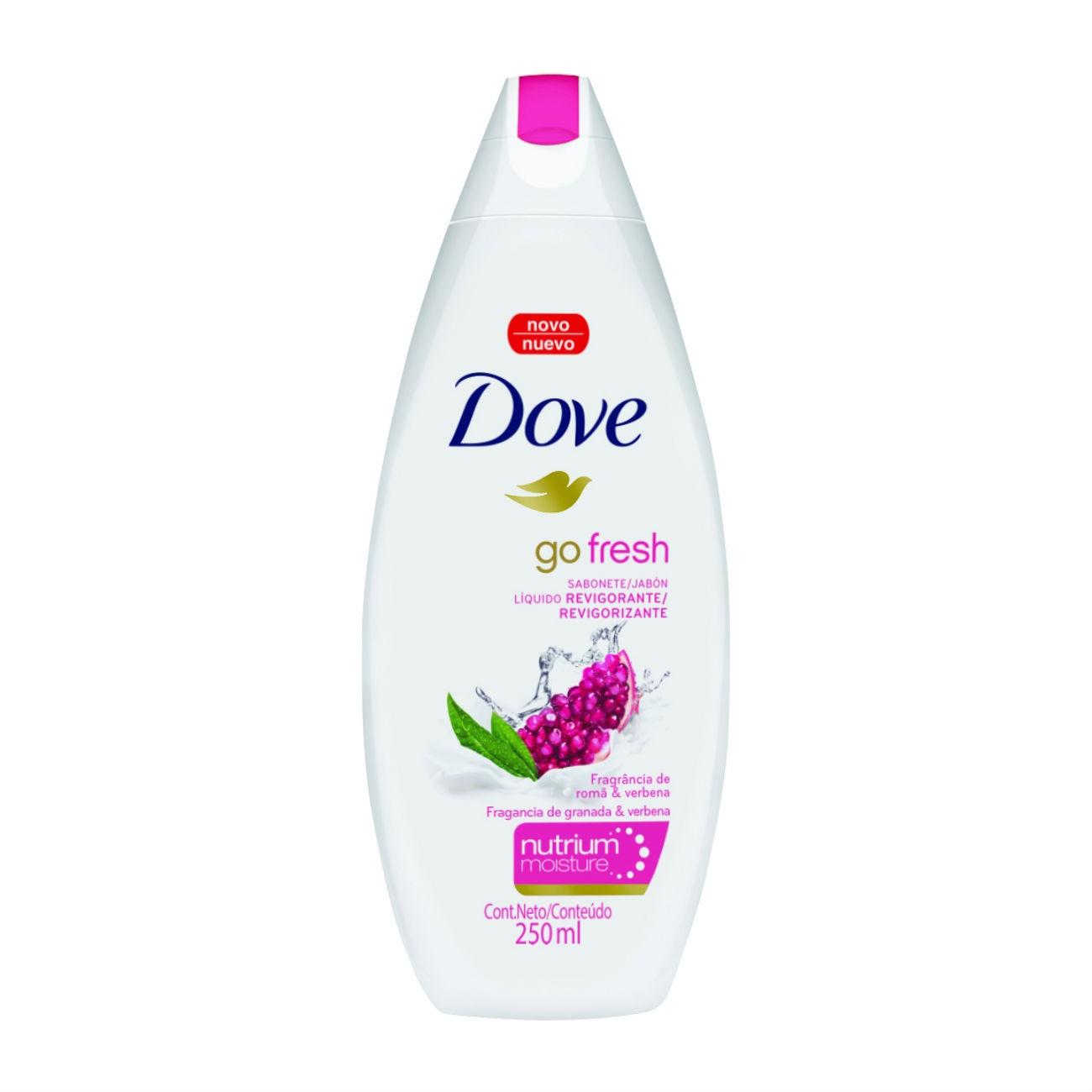 Sabonete Líquido Dove Go Fresh Revigorante 250ml