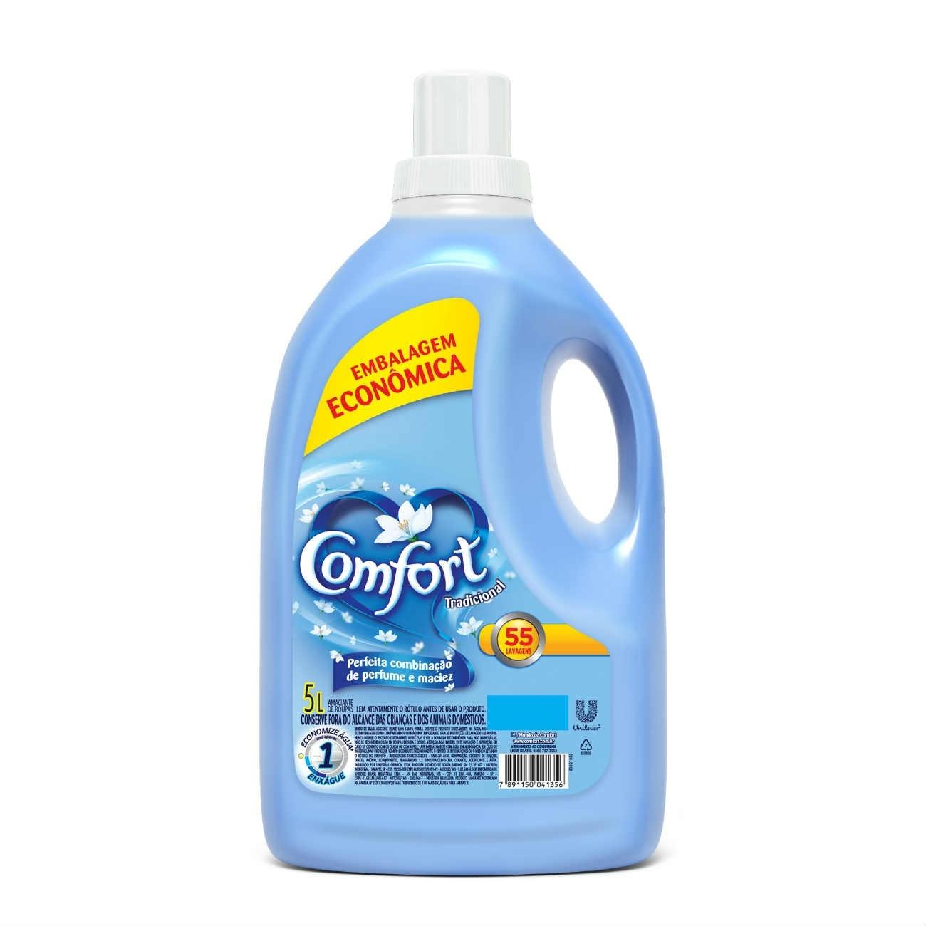 Amaciante Dilu�do Comfort Azul 5L