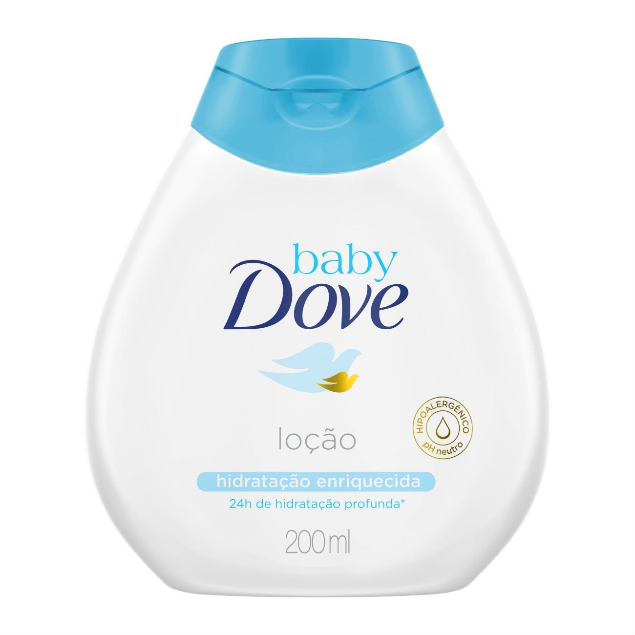 Lo��o Hidratante Baby Dove Hidrata��o Enriquecida 200 ML
