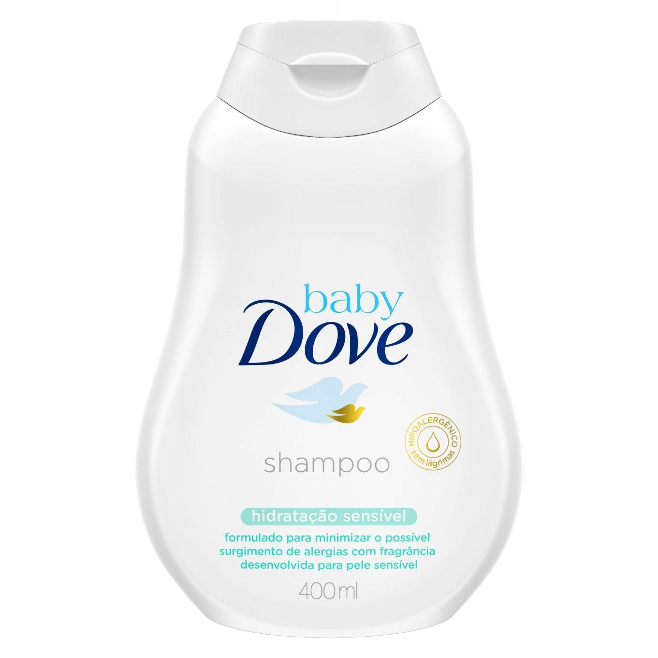 Shampoo Baby Dove Hidrata��o Sens�vel 400 mL