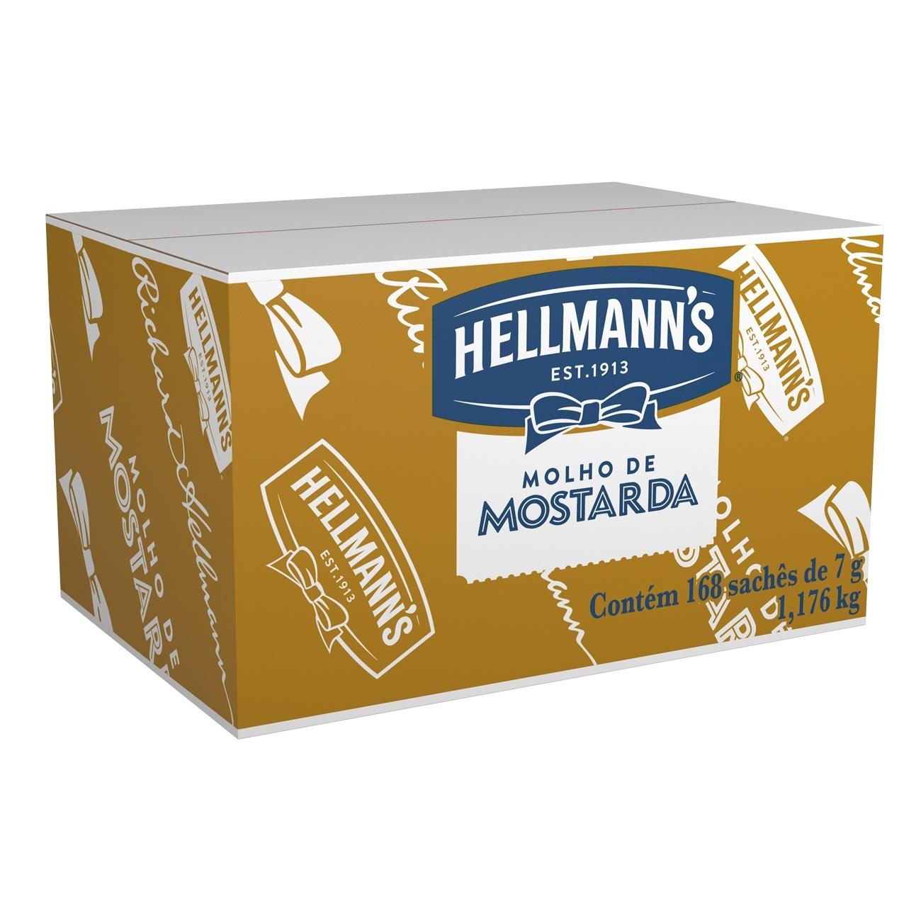 Mostarda Hellmann's Sach� 7g