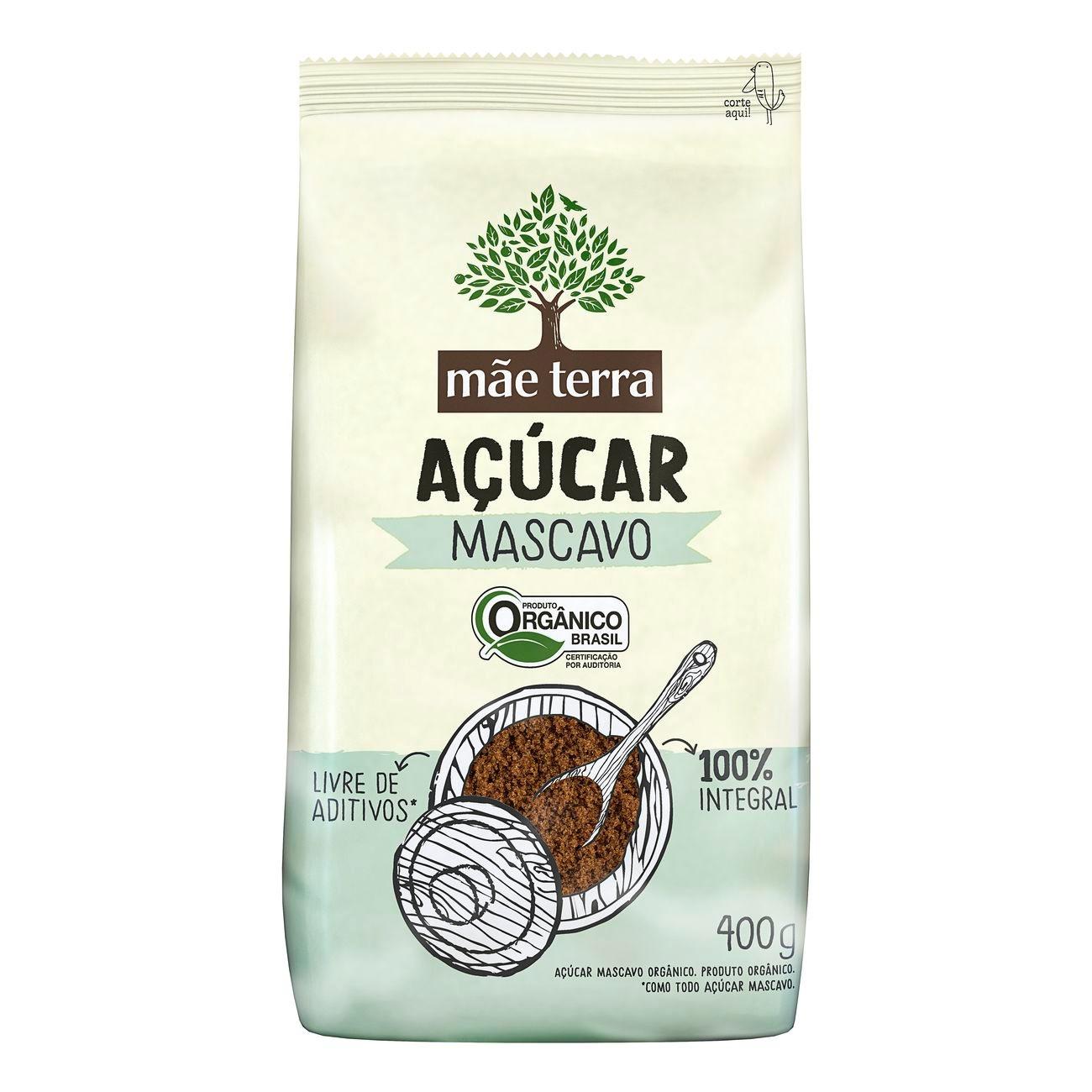 Açúcar Mascavo Orgânico Mãe Terra 400g