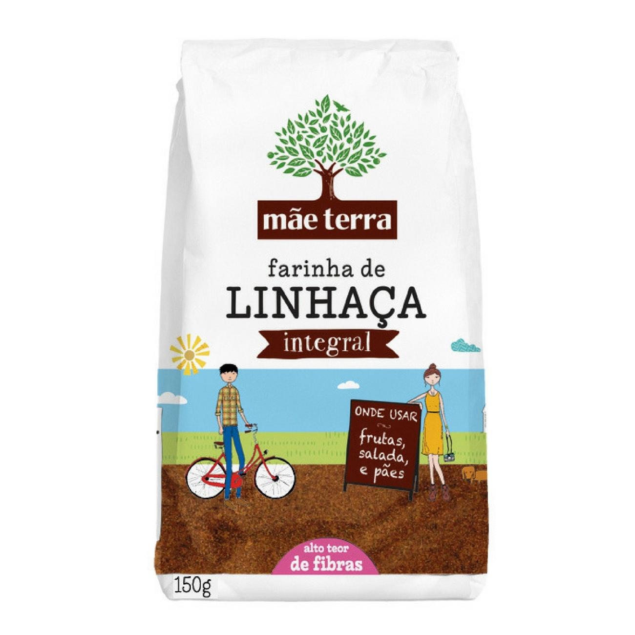 Farinha de Linha�a Integral 150g