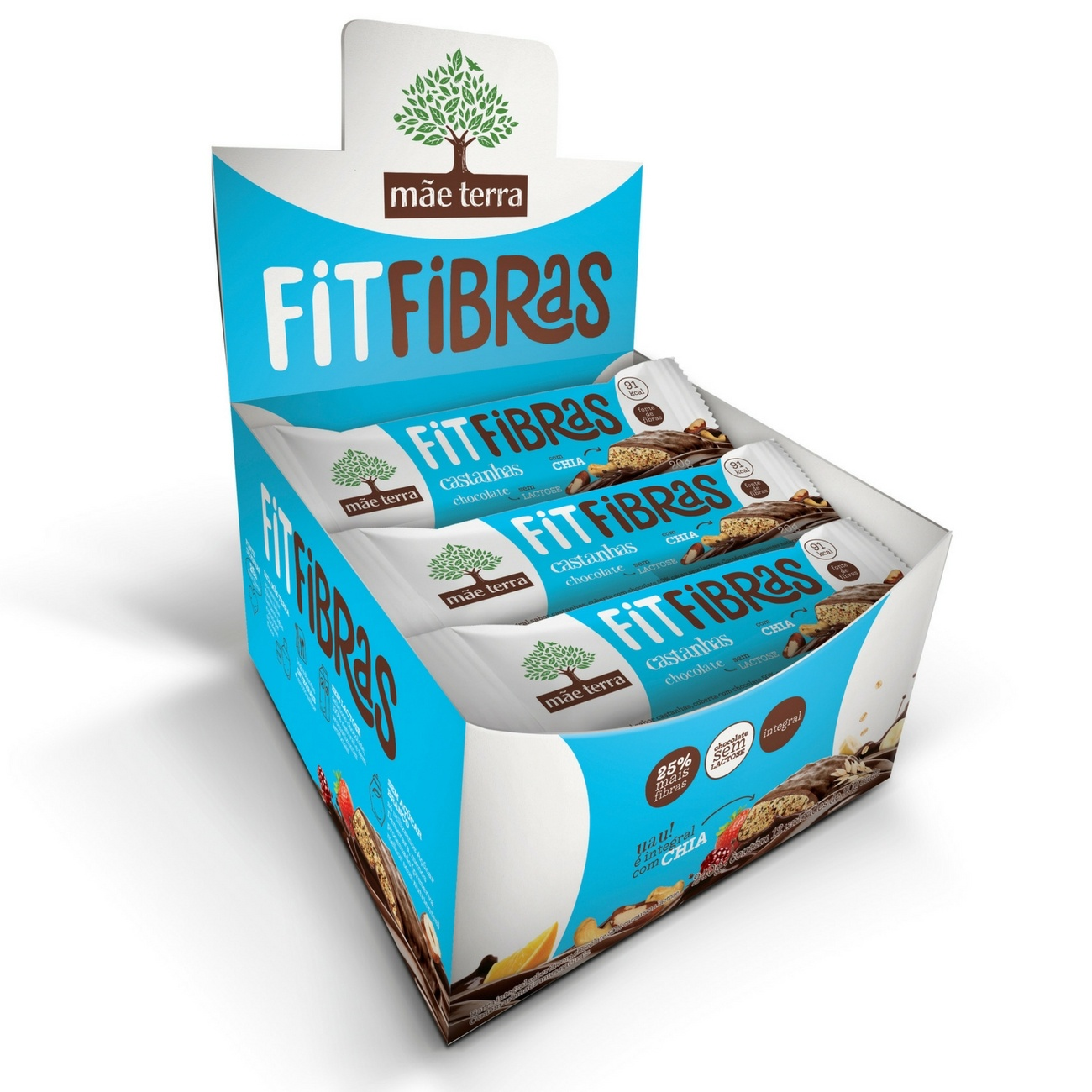 FitFibras Castanha 20g | Display