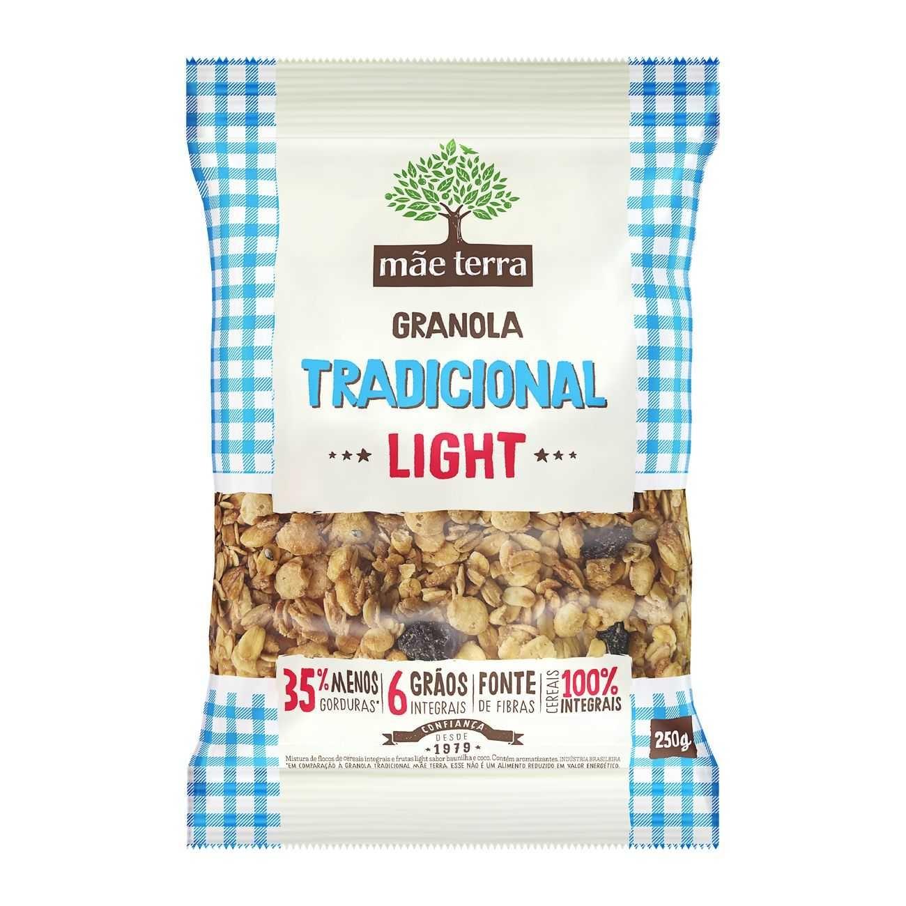 Granola Tradicional Light 250g