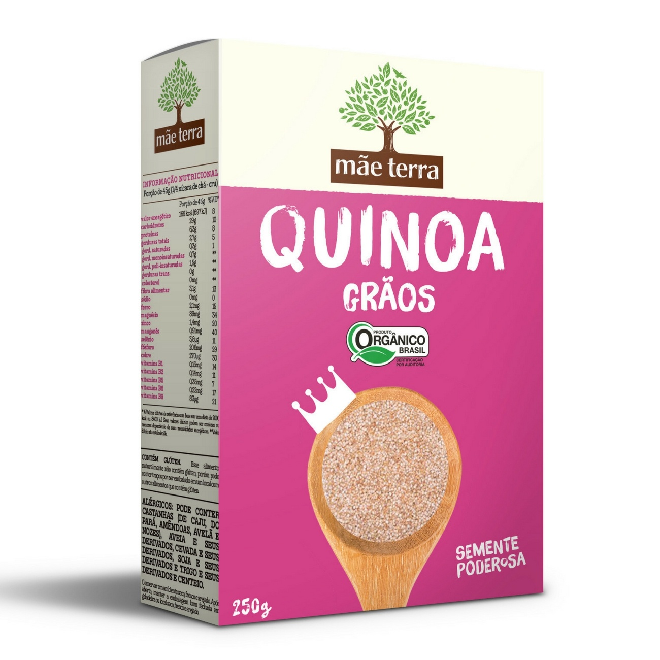 Quinoa Gr�os Org�nicos 250g