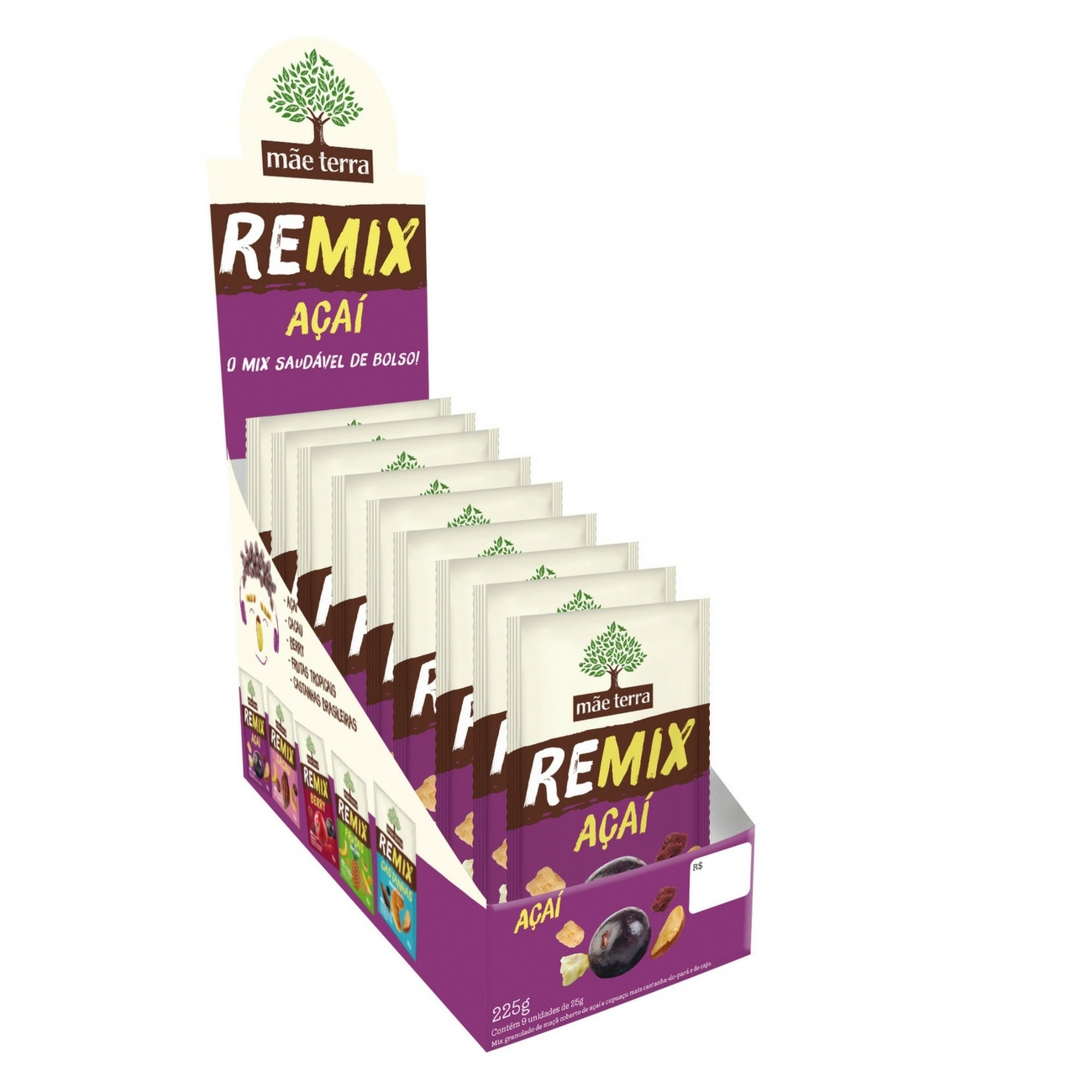 Remix A�a� 25g | Display