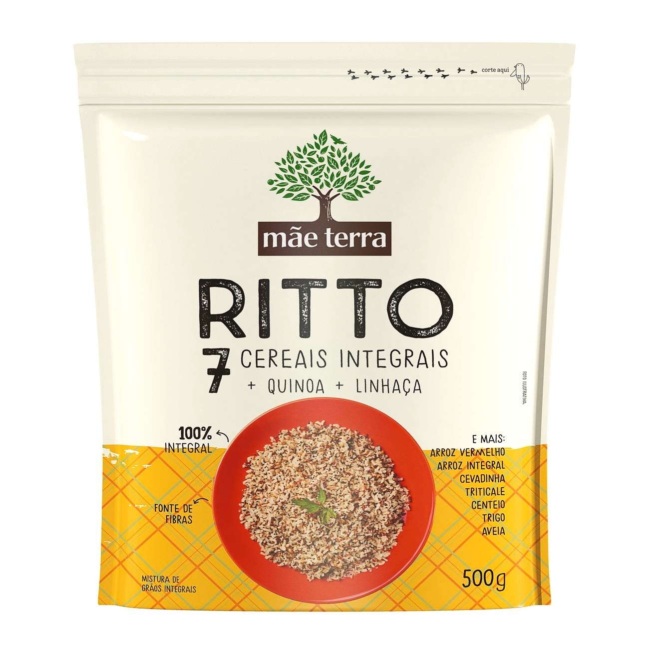 Ritto 7 Cereais Integrais 500g