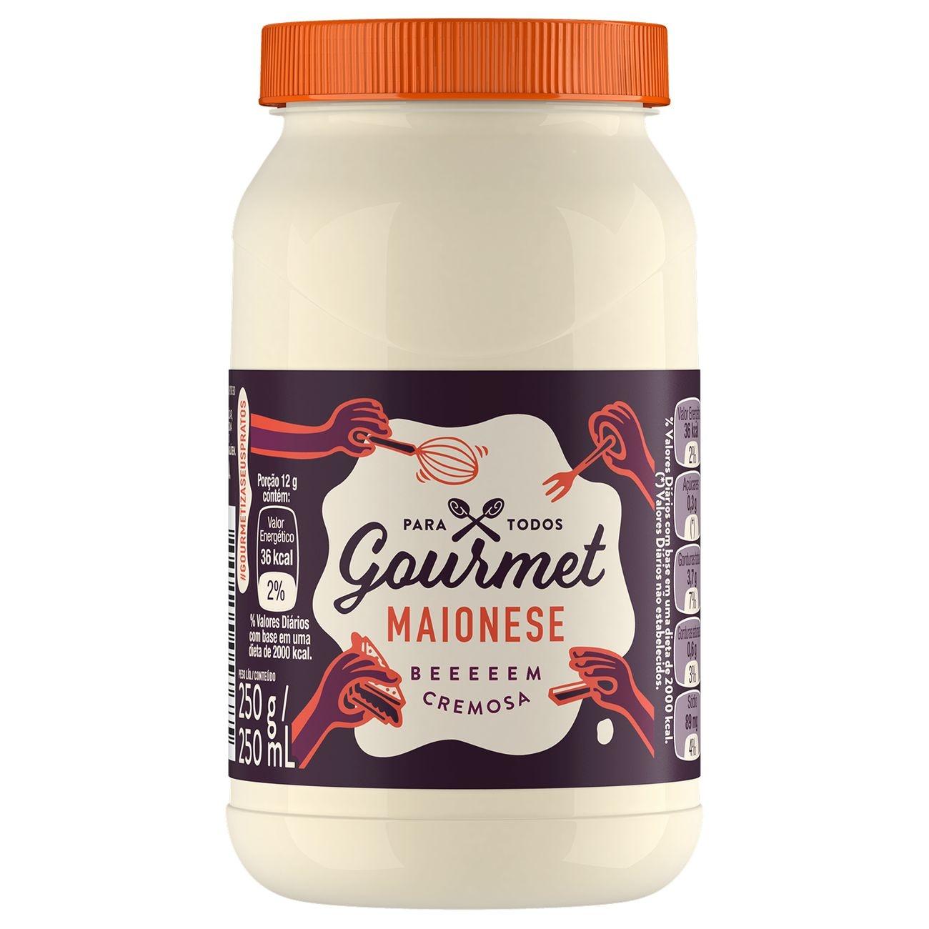 Maionese Gourmet Regular 250g