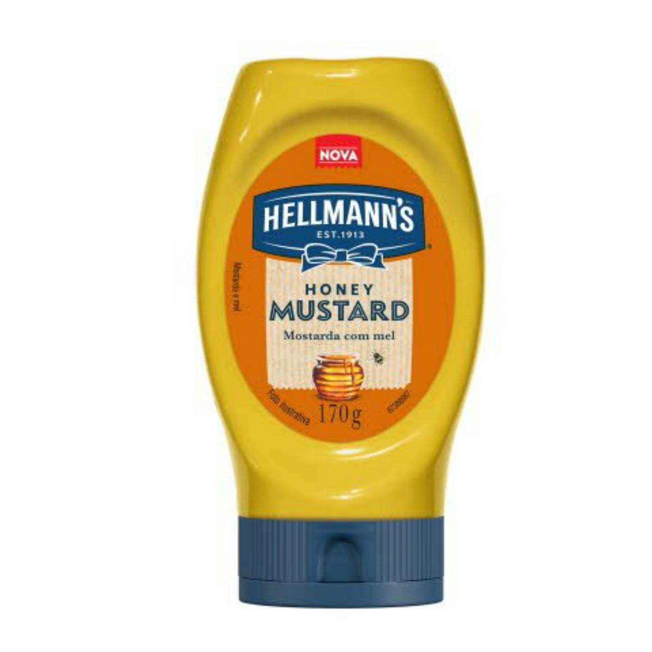 Mostarda Squeeze Hellmann's com Mel 170g