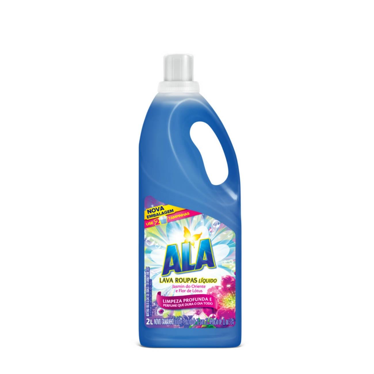 Detergente L�quido Ala Jasmim do Oriente e Flor de L�tus 2L