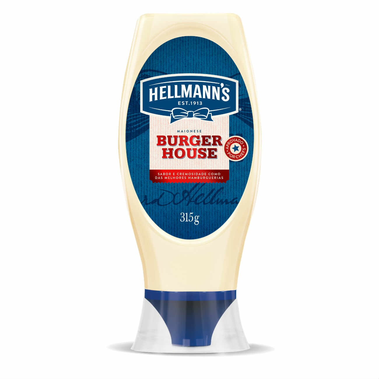 Maionese Squeeze Hellmann's Burger House 315g
