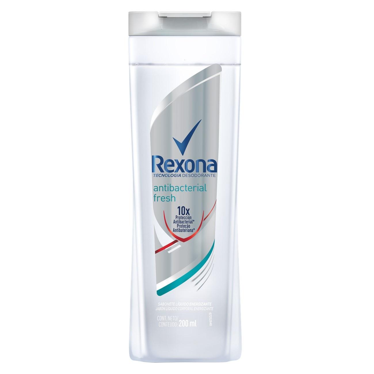 Sabonete Líquido REXONA Antibacterial Fresh 200 ML