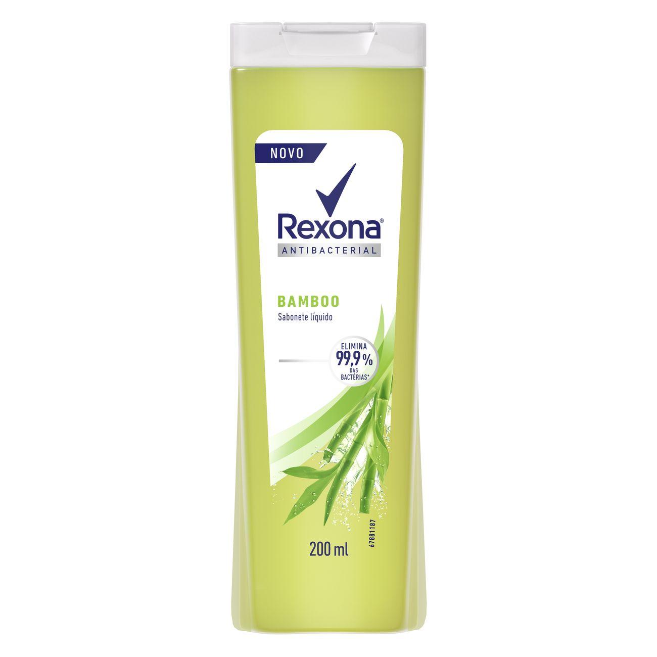 Sabonete Líquido REXONA Bamboo Fresh 200 ML