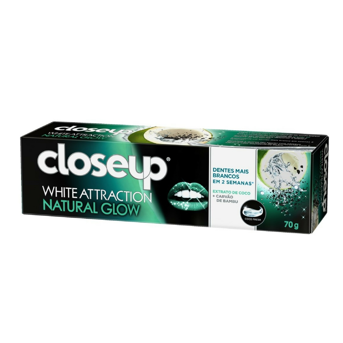 Creme Dental Close up White Attraction Natural Glow 70g