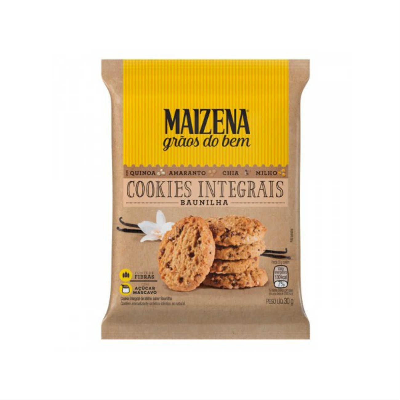 Cookies Integrais Maizena Baunilha 30g