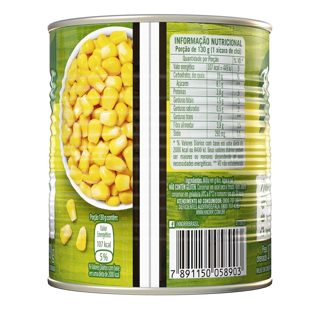 Milho em Conserva Knorr 170g