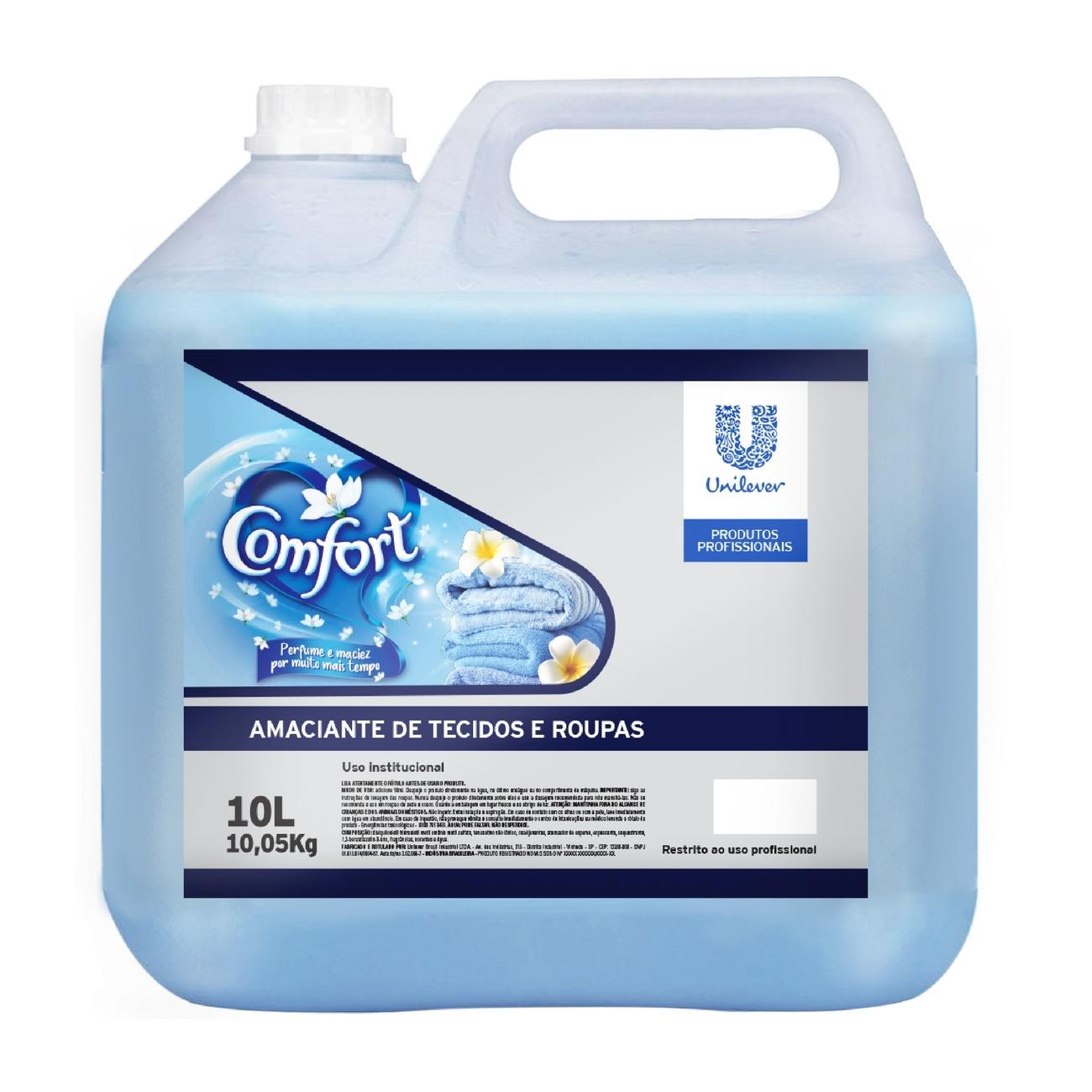 Amaciante Diluído Comfort 10l | Uso Profissional