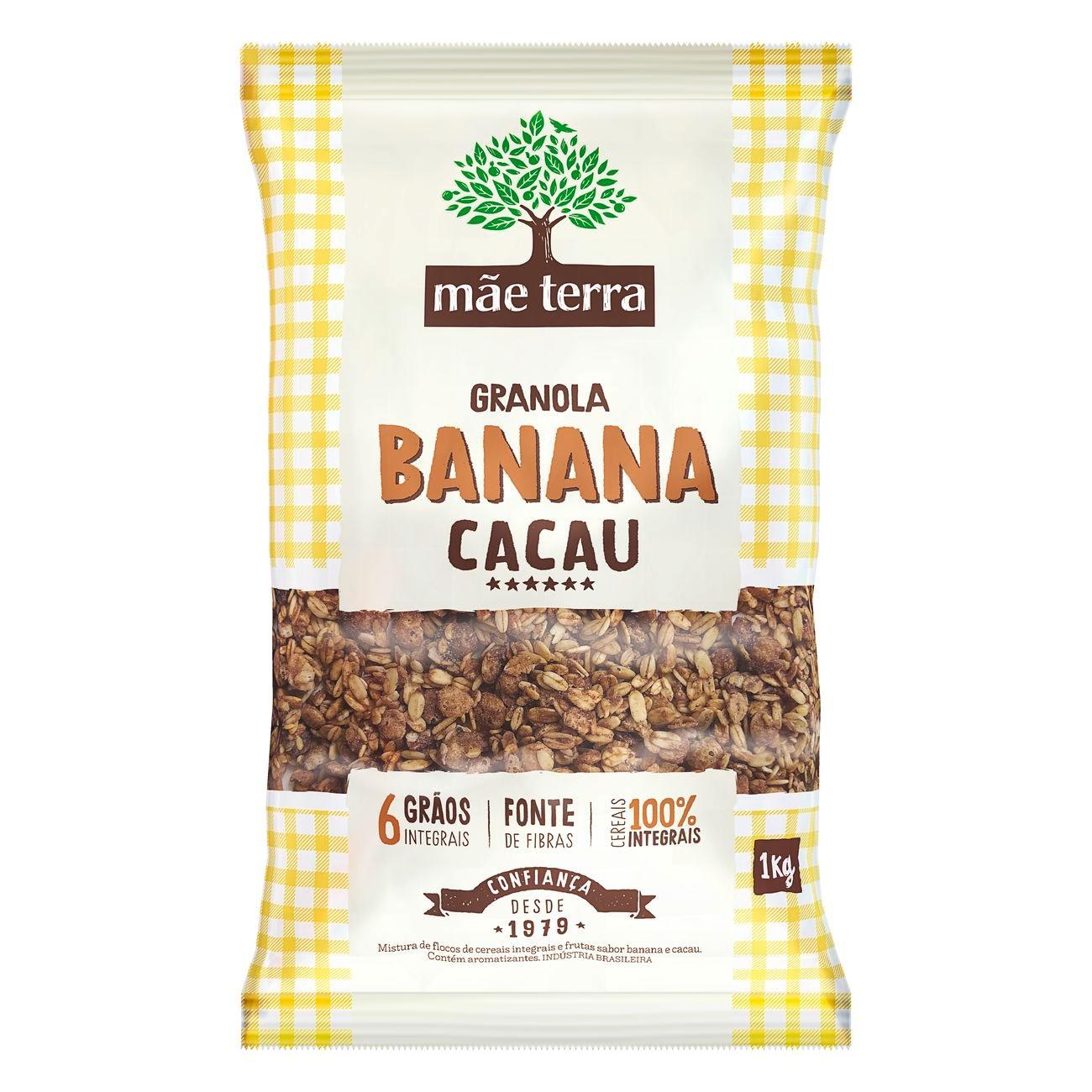 Granola Mãe Terra Banana e Cacau 1kg