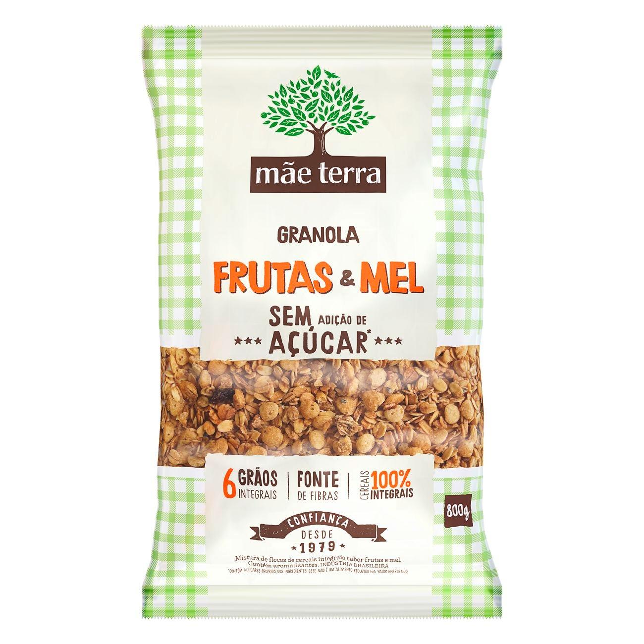 Granola Mãe Terra Frutas sem Açúcar 800g
