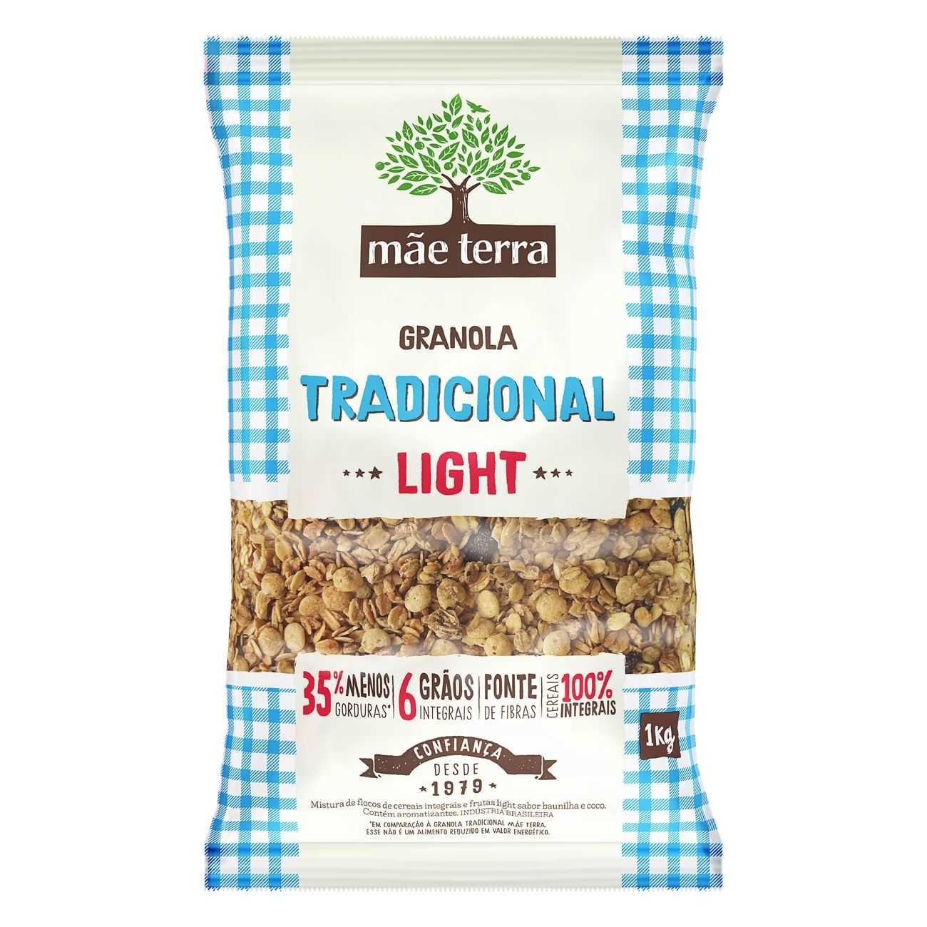 Granola M�e Terra Tradicional Light 1kg