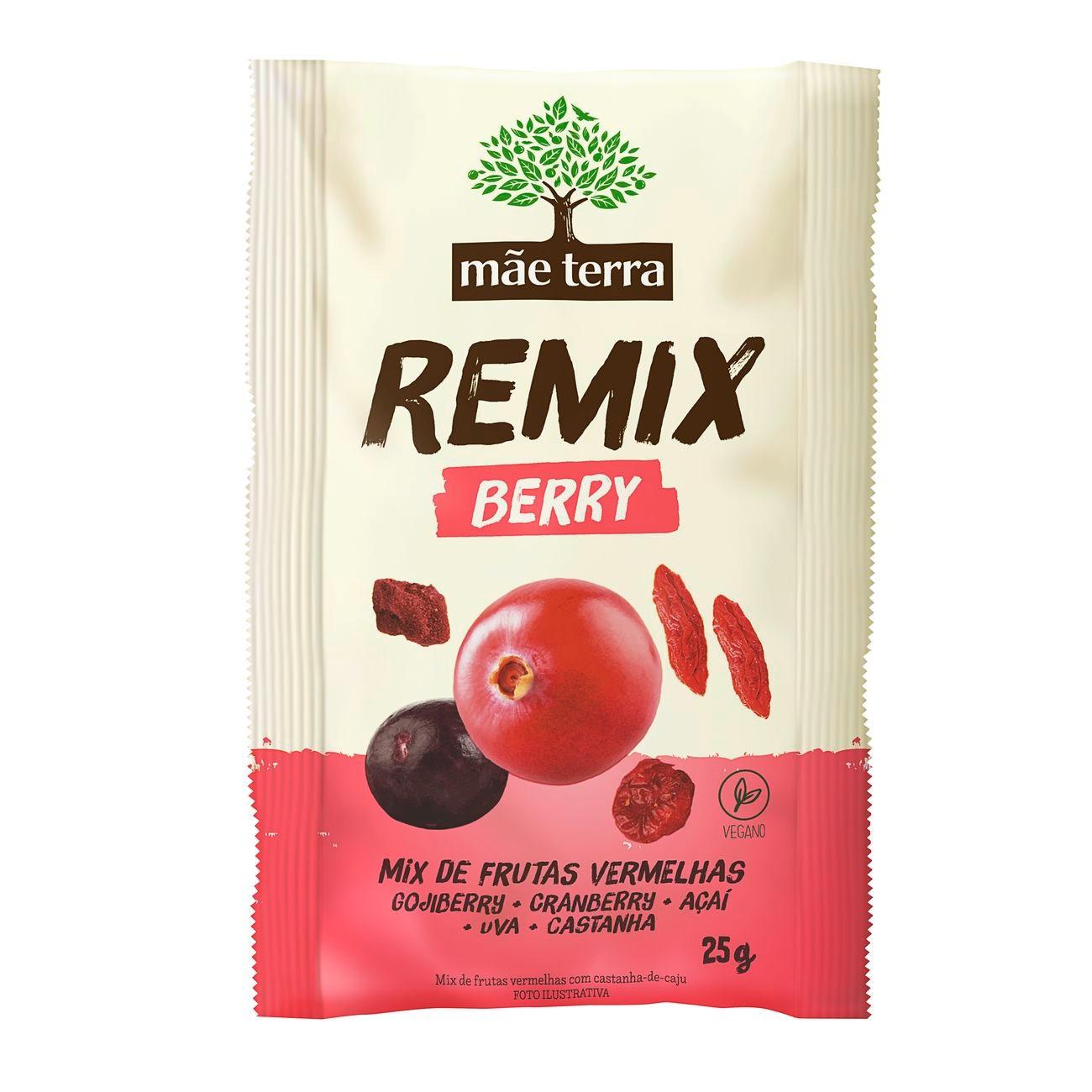 Remix M�e Terra Berry Vermelha 25g