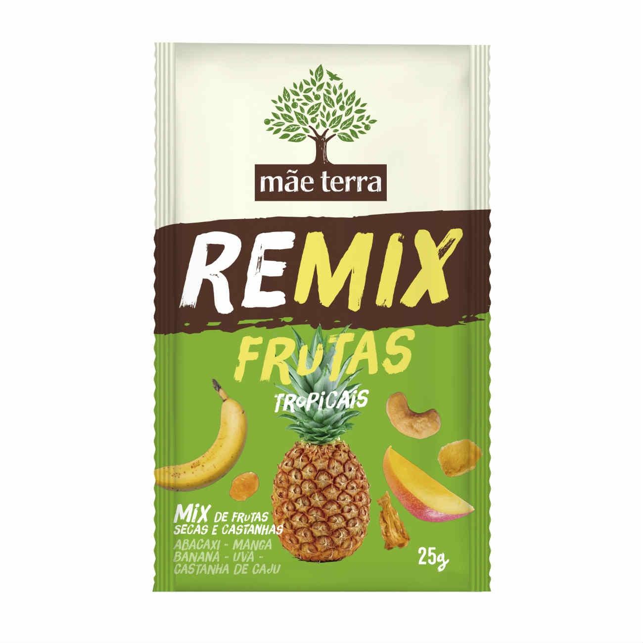 Remix Mãe Terra Frutas Tropicais 25g