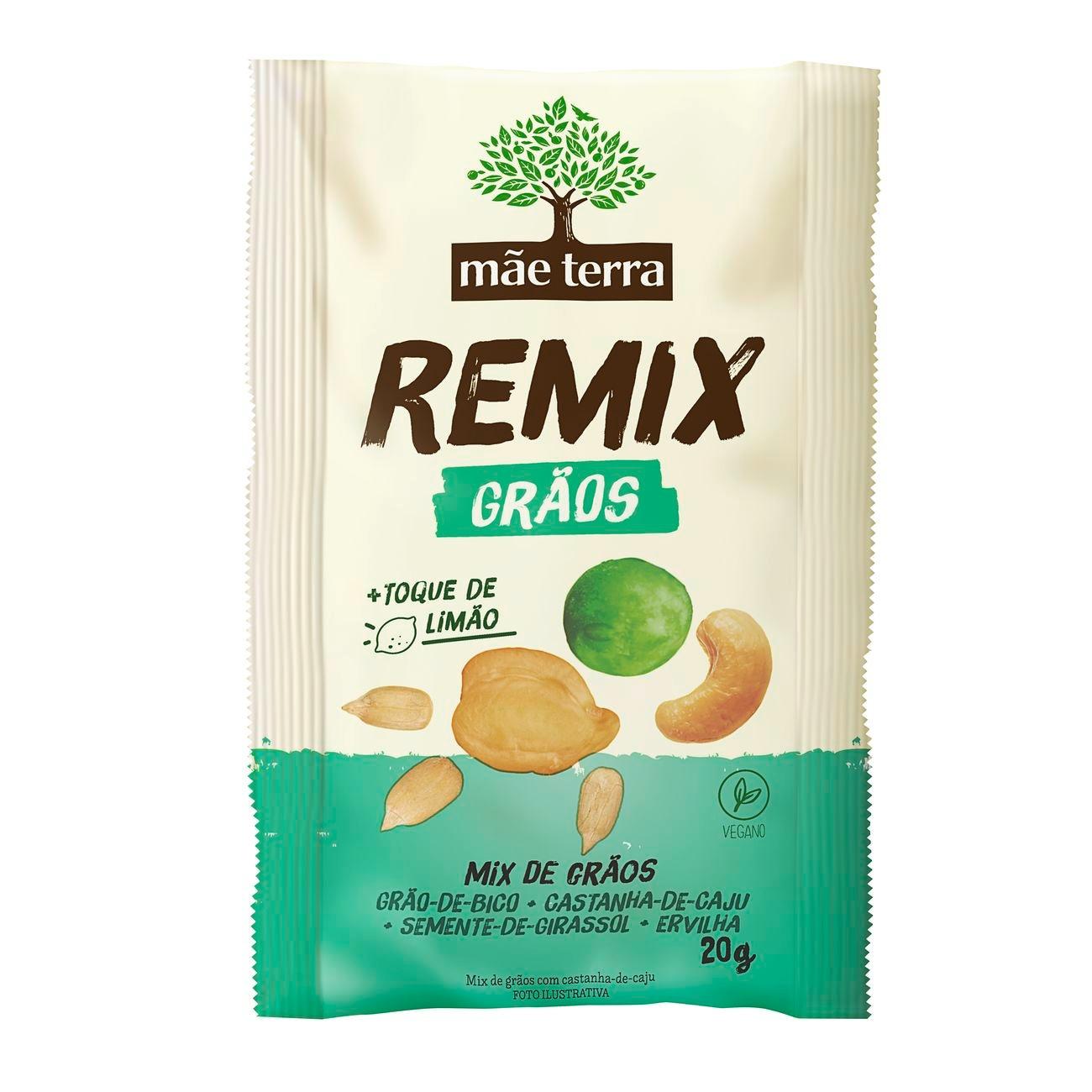 Remix M�e Terra Gr�o de Bico + Ervilha