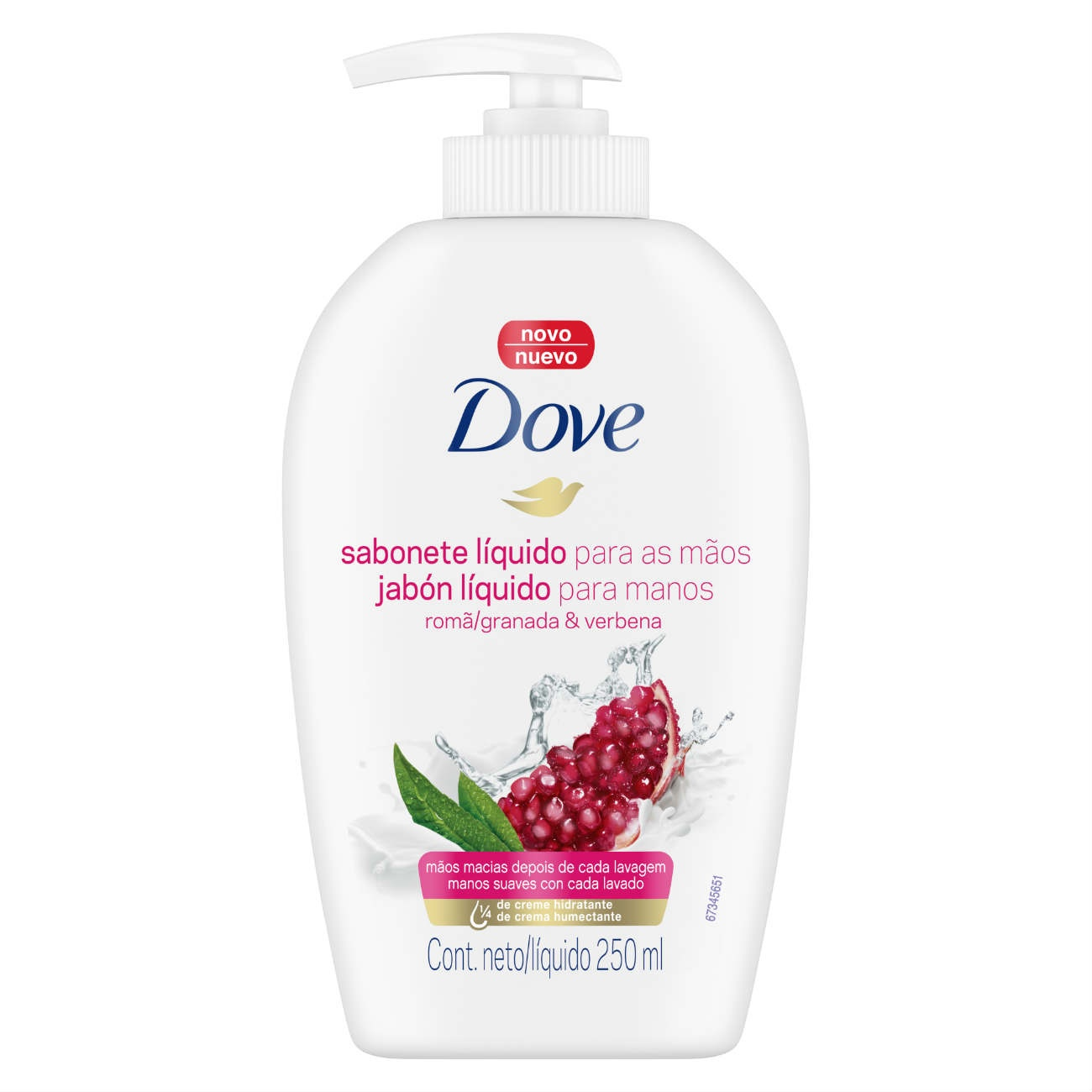 Sabonete para as M�os Dove Rom� e Verbena 250mL
