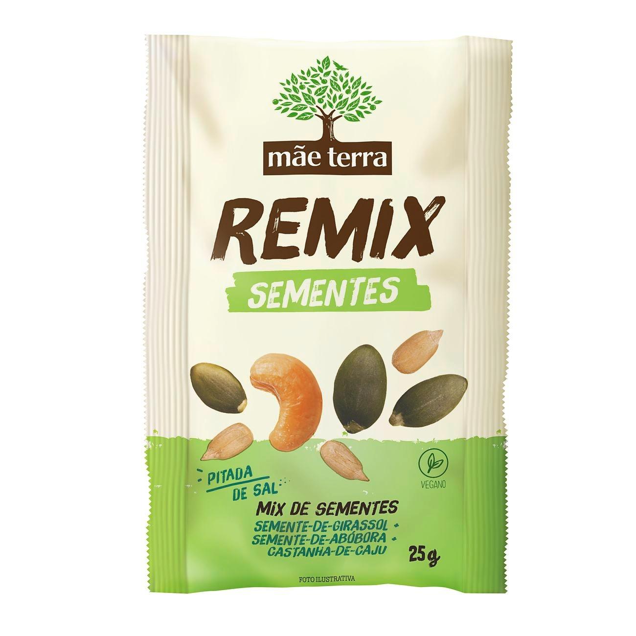 Remix Mãe Terra Sementes Abóbora + Girassol 20g
