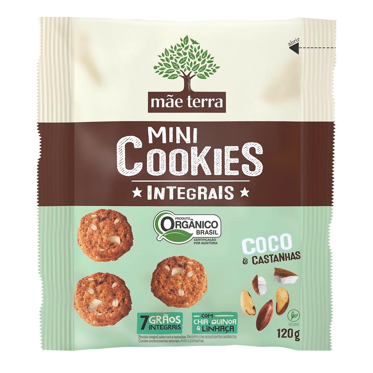Cookies Orgânicos Mãe Terra Coco 120g