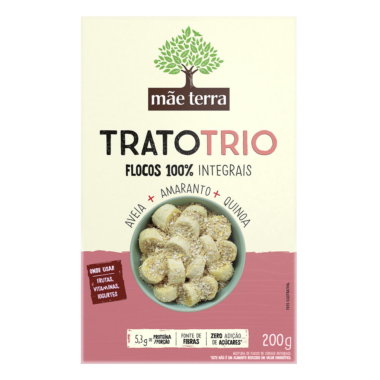 Mix de Cereais Integral Mãe Terra Trato Trio 200g