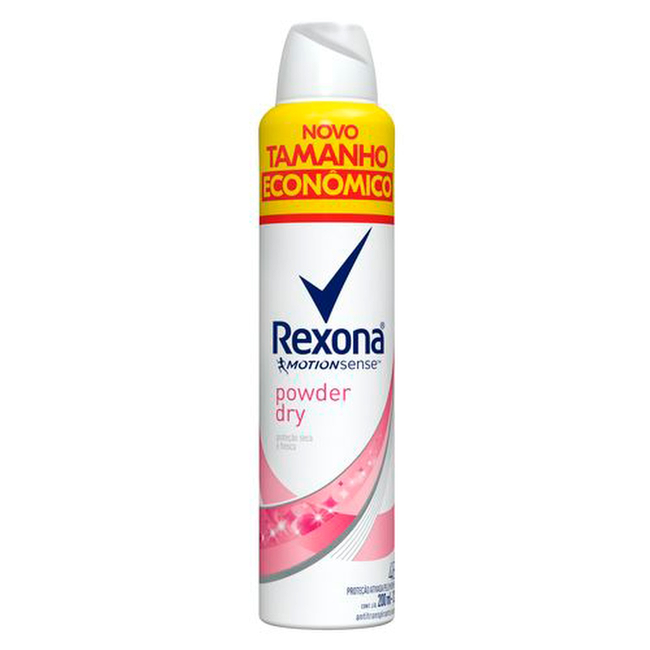 Desodorante Antitranspirante Aerosol Rexona Feminino Powder Dry 200ml | Caixa com 1