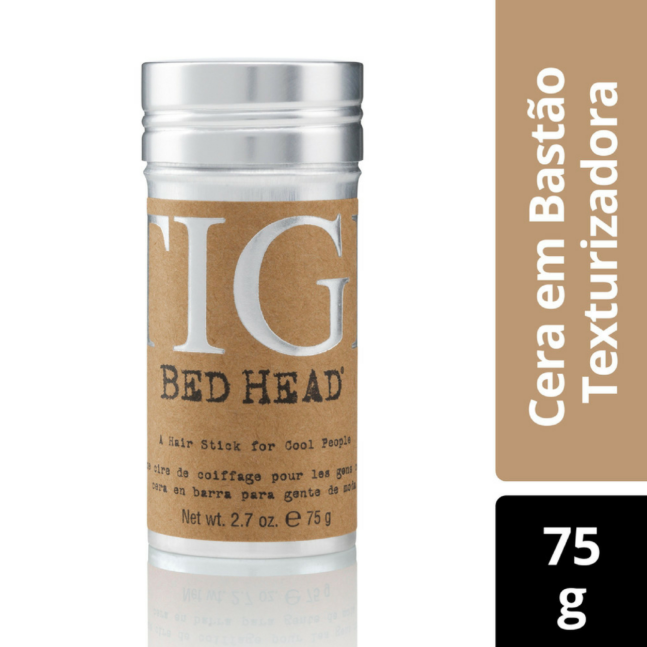 Cera Capilar Bed Head em Bastão 75g