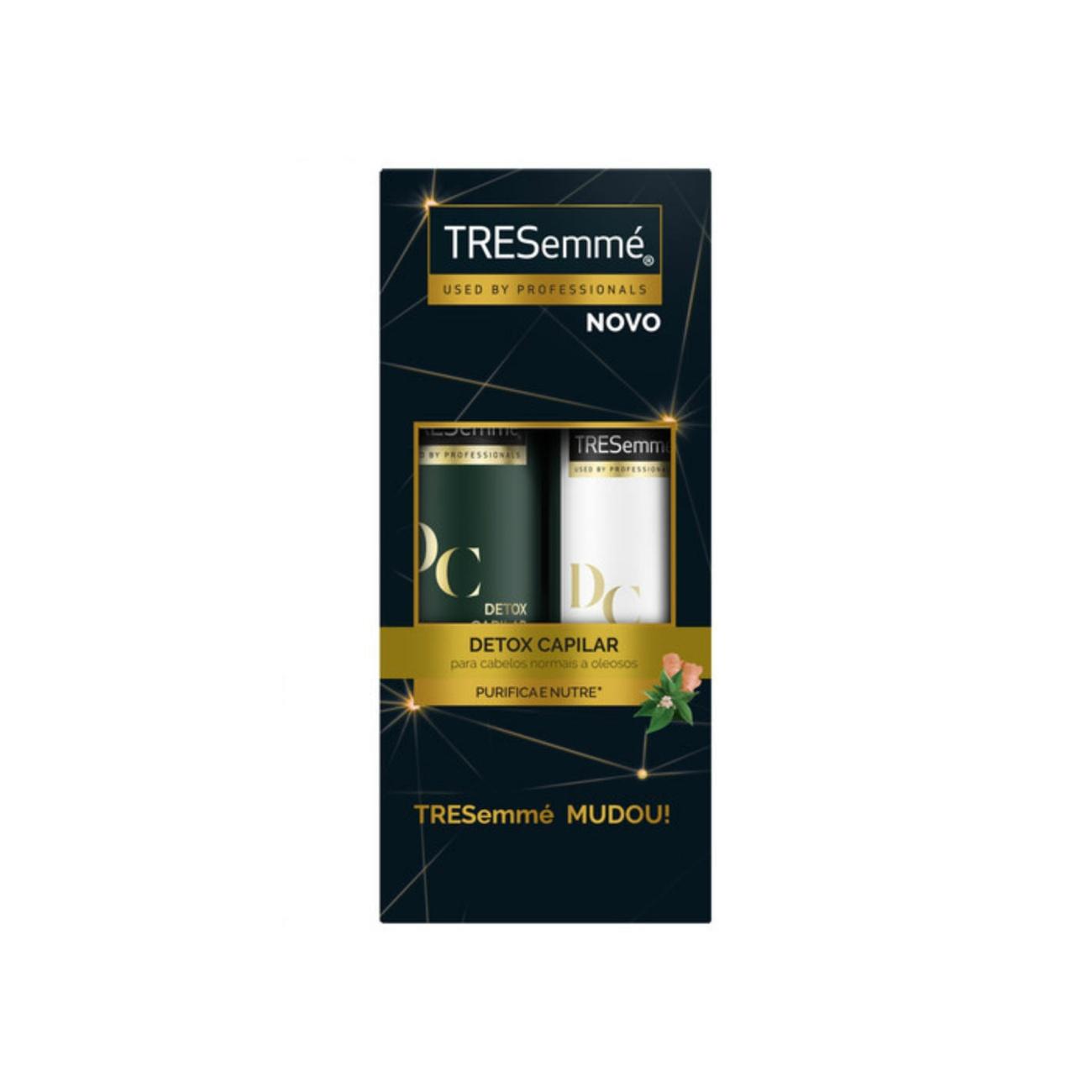 Oferta Tresemmé Shampoo Detox Capilar 400ml + Condicionador 200ml