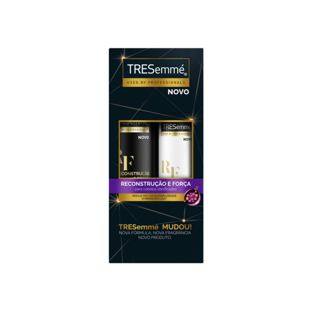 Oferta Tresemmé Shampoo Reconstrução e Força 400ml + Condicionador 200ml