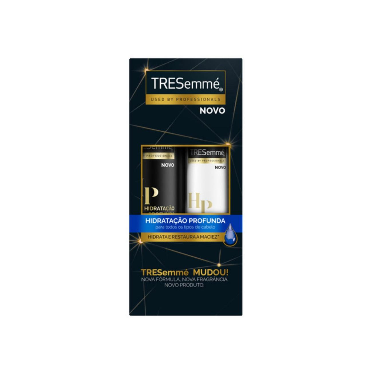 Oferta Tresemmé Shampoo Hidratação Profunda 400ml + Condicionador 200ml