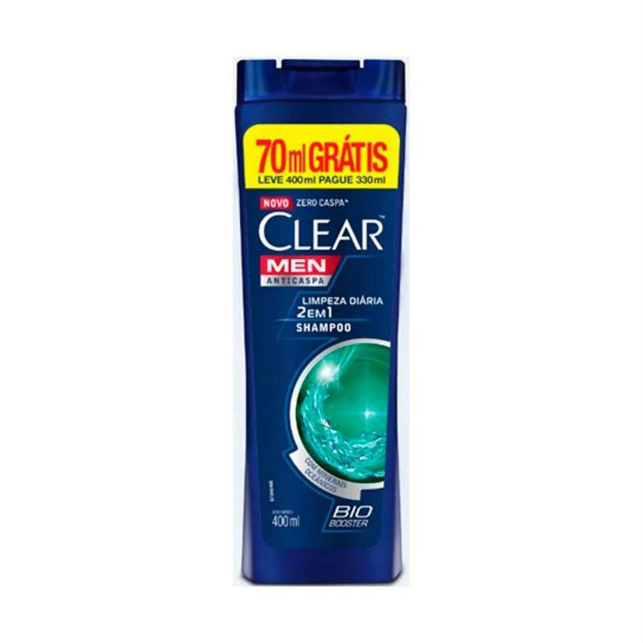 Oferta Shampoo Anticaspa Clear 2 em 1 Limpeza Diária 400ml