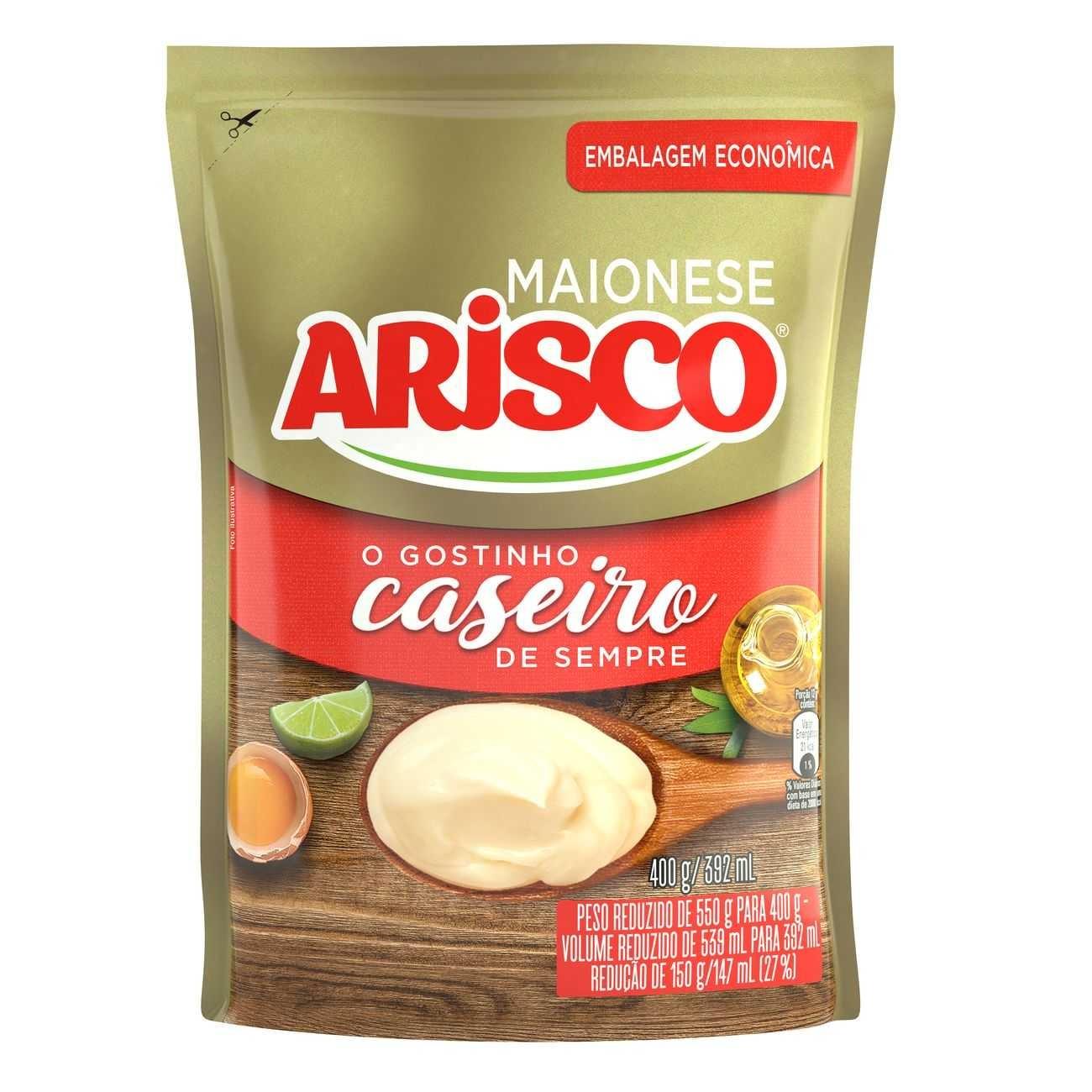 Maionese Arisco Refil 400g