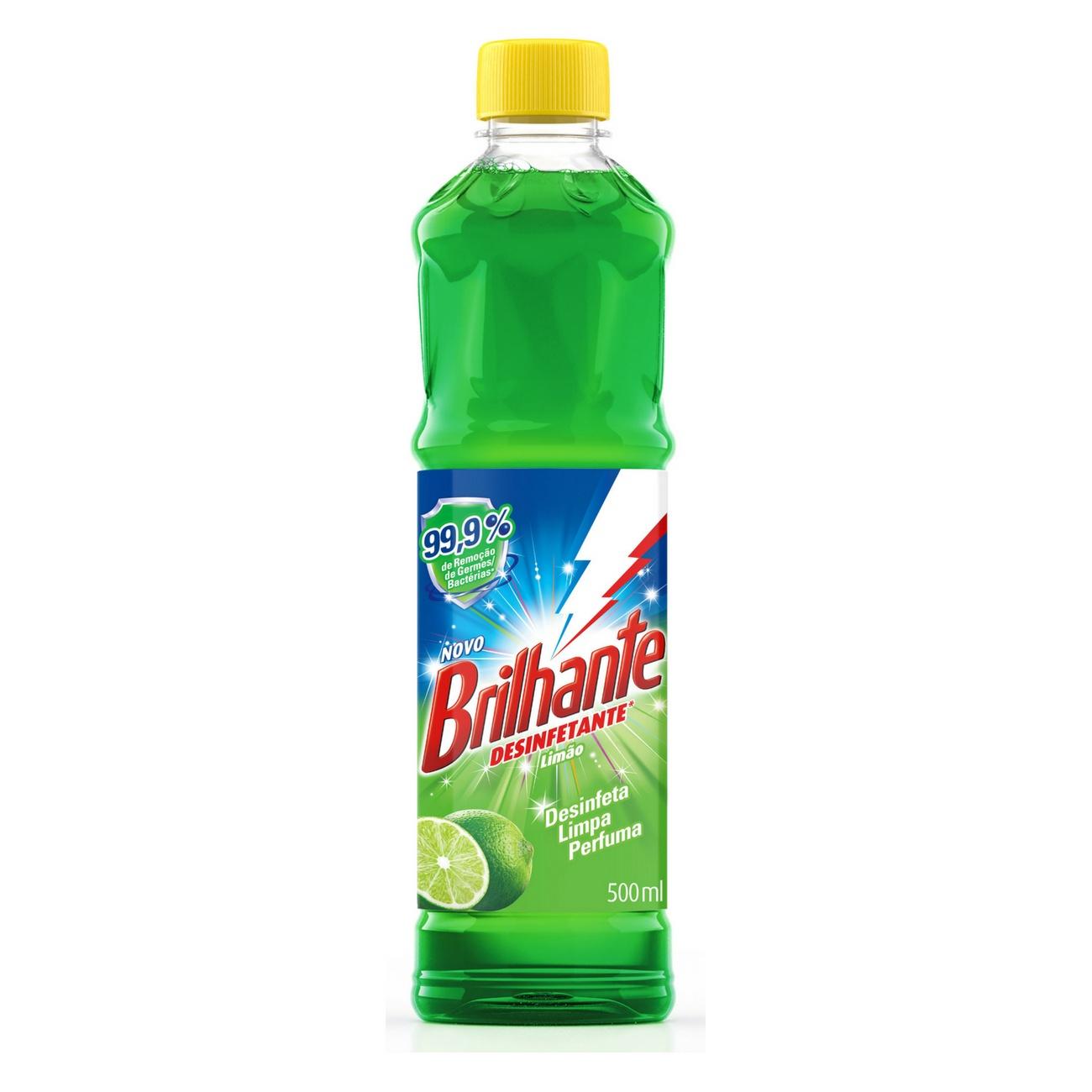 Desinfetante Brilhante Limão 500ml