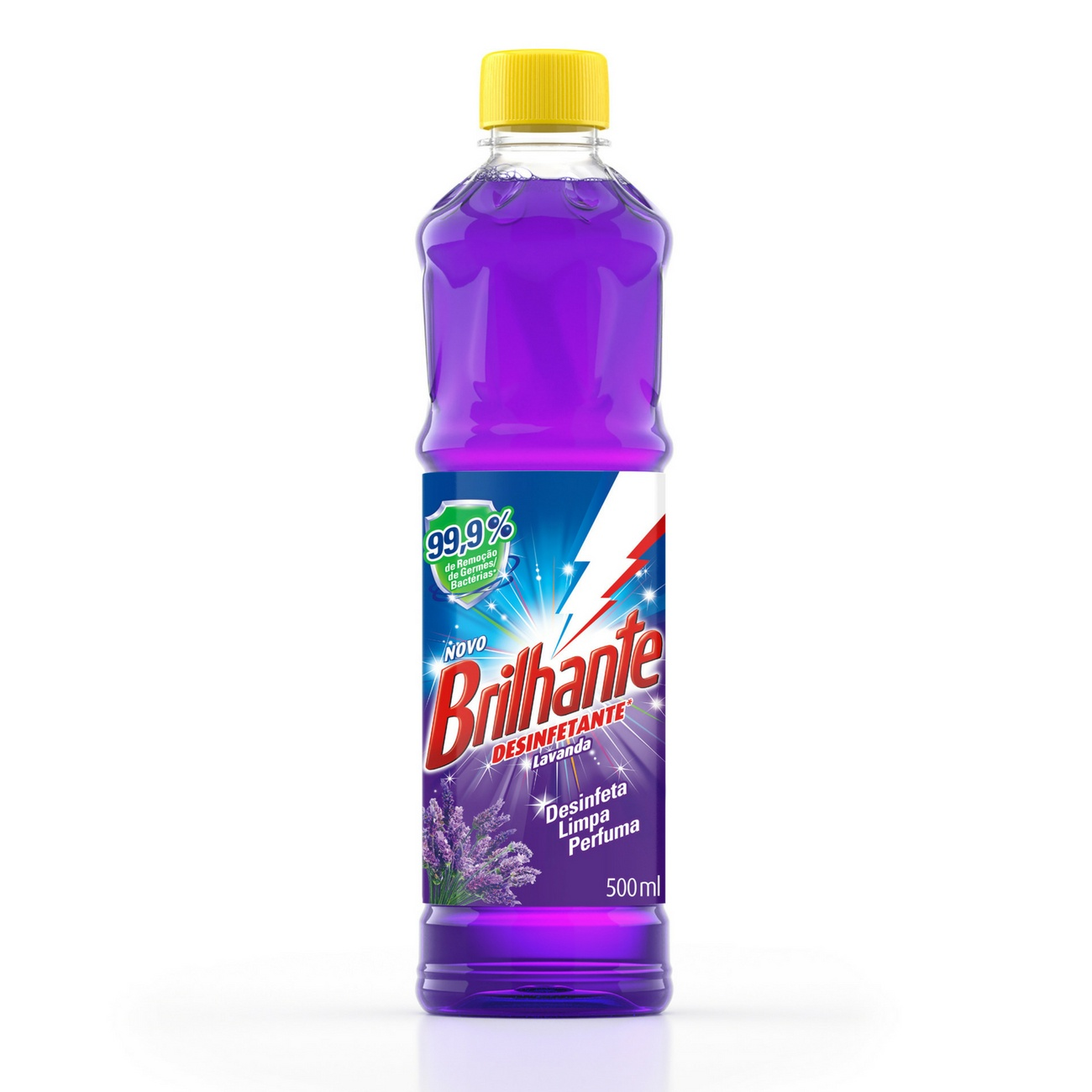Desinfetante Brilhante Lavanda 500ml