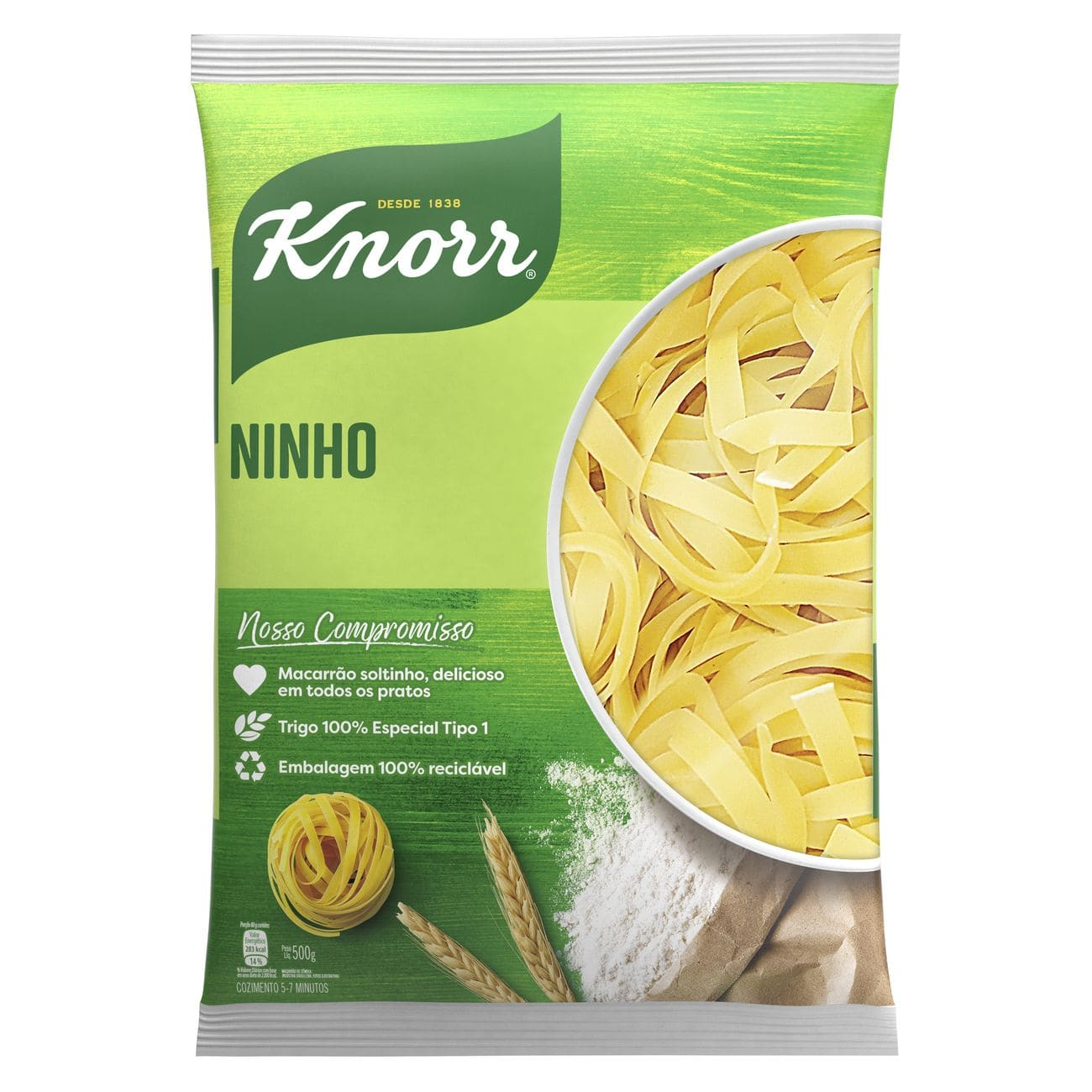 Macarrão Ninho Knorr Sêmola 500g