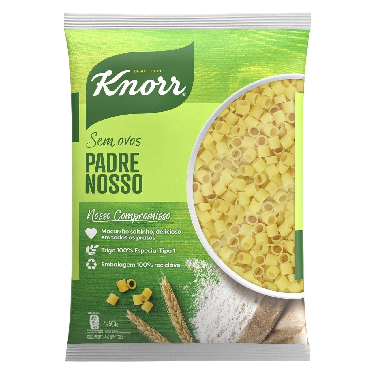 Macarrão Padre Nosso Knorr Sêmola 500g
