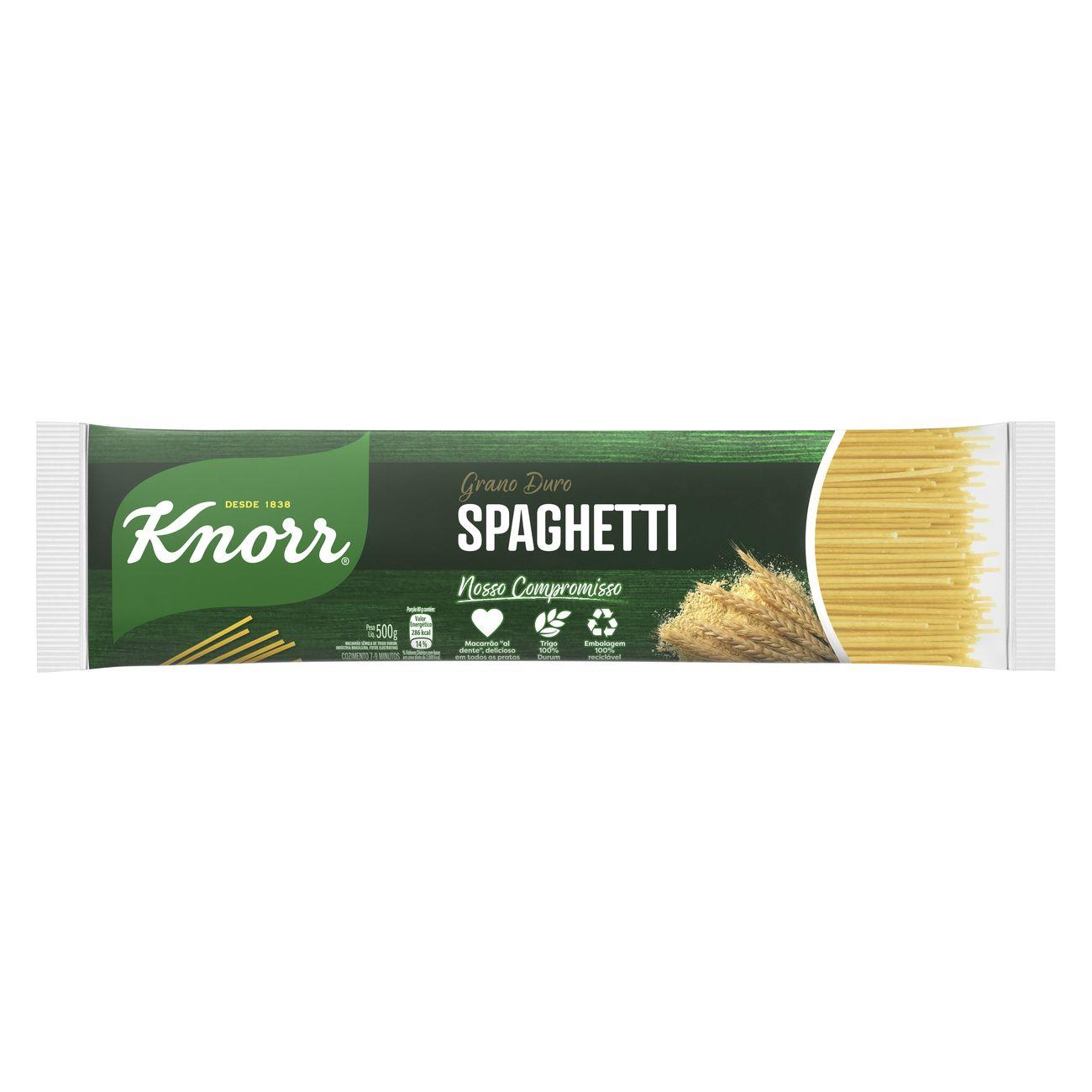 Macarrão Spaghetti Knorr Grano Duro 500g